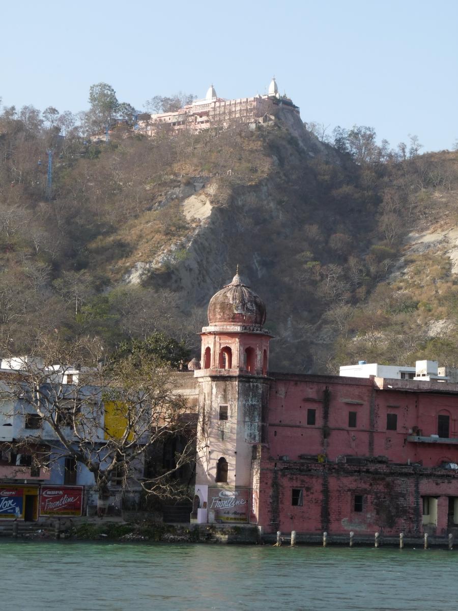 Mansa Devi Temple Above The Havelis Haridwar A Niche World