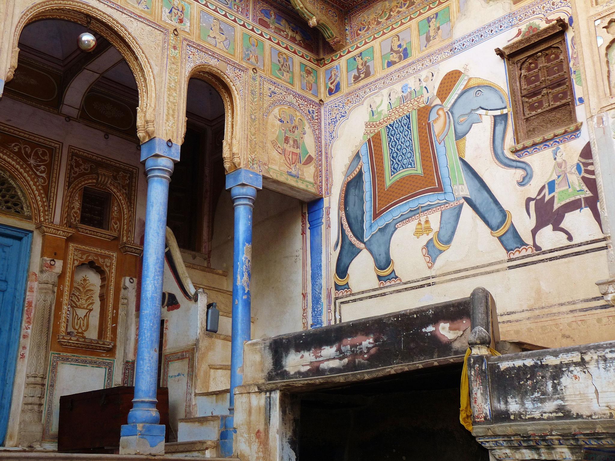 Mandawa India  city photo : ... Indian life in a haveli in Mandawa, Rajasthan, India | A Niche World