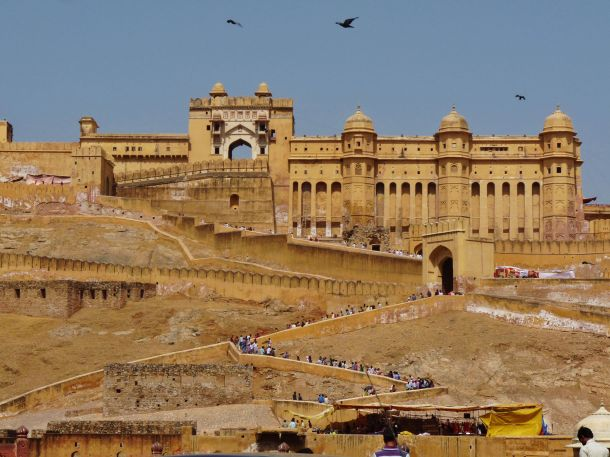 Amer Fort, Ajmer Fort, Jaipur Fort, The Pink City