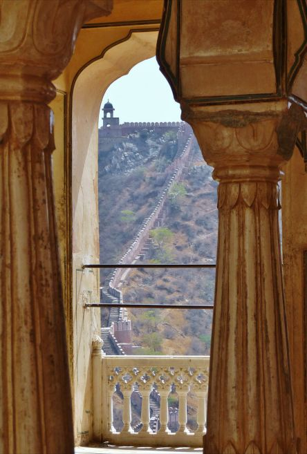 Amer Fort, Ajmer Fort, Jaipur Fort, Pink City, pillars