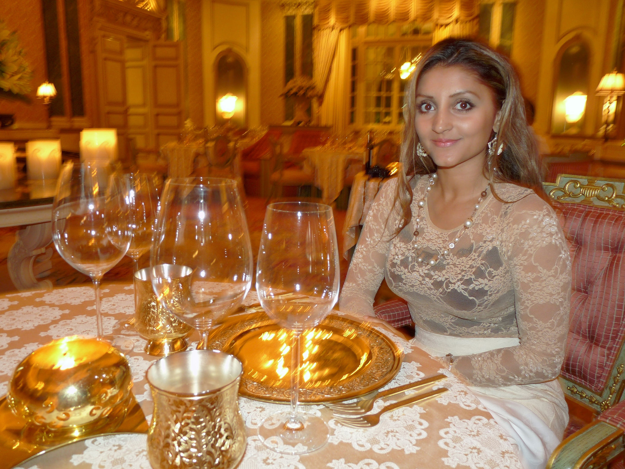 Suvarna Mahal Indian Fine Dining With Gold Plated Cutlery