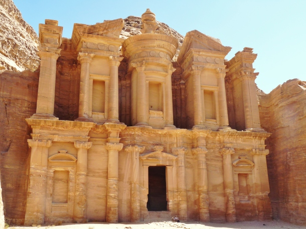 """Monastery"" ""petra sights"" ""Petra"" ""Wadi Musa"" ""Jordan"" ""desert"" ""ruins"" ""UNESCO"" ""heritage"" ""archaeology"" ""excavation"" ""wonders of the world"" ""desert"" ""rose red city"" ""sandstone"" ""ruins"" ""historical"" ""sights"" ""things to see jordan"" ""architecture"" ""view"" ""wanderlust"" ""photography"" """"world travel"" ""must-see sights"" ""Treasury"""