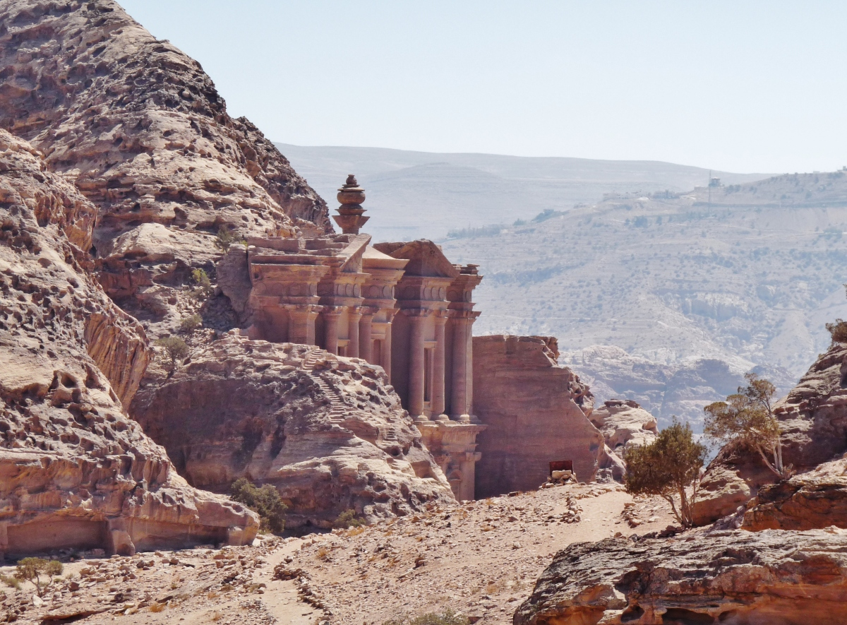 """Monastery"" ""sights petra"" ""sacrifice view"" ""viewpoint petra"" ""end of the world"" ""Petra"" ""Wadi Musa"" ""Jordan"" ""desert"" ""ruins"" ""UNESCO"" ""heritage"" ""archaeology"" ""excavation"" ""wonders of the world"" ""desert"" ""rose red city"" ""sandstone"" ""ruins"" ""historical"" ""sights"" ""things to see jordan"" ""architecture"" ""view"" ""wanderlust"" ""photography"" """"world travel"" ""must-see sights"""