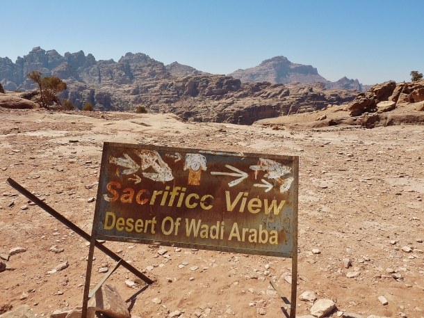 """sacrifice view"" ""viewpoint petra"" ""end of the world"" ""Petra"" ""Wadi Musa"" ""Jordan"" ""desert"" ""ruins"" ""UNESCO"" ""heritage"" ""archaeology"" ""excavation"" ""wonders of the world"" ""desert"" ""rose red city"" ""sandstone"" ""ruins"" ""historical"" ""sights"" ""things to see jordan"" ""architecture"" ""view"" ""wanderlust"" ""photography"" """"world travel"" ""must-see sights"""