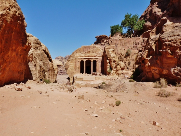 """garden hall"" ""garden tomb"" ""high place of sacrifice"" ""petra"" ""wadi musa"" ""desert"" ""middle east"" ""travel"" ""hiking"" ""climb"" ""adventure travel"" ""rose-red city"" ""sandstone"" ""archaeology"" ""excavation"" ""ruins"" ""Nabatean"" ""wanderlust"" ""things to see petra"" ""petra sights"" ""things to see jordan"" ""wanderlust"" ""world"""