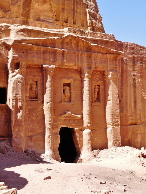 """soldiers tomb"" ""high place of sacrifice"" ""petra"" ""wadi musa"" ""desert"" ""middle east"" ""travel"" ""hiking"" ""climb"" ""adventure travel"" ""rose-red city"" ""sandstone"" ""archaeology"" ""excavation"" ""ruins"" ""Nabatean"" ""wanderlust"" ""things to see petra"" ""petra sights"" ""things to see jordan"" ""wanderlust"" ""world"""