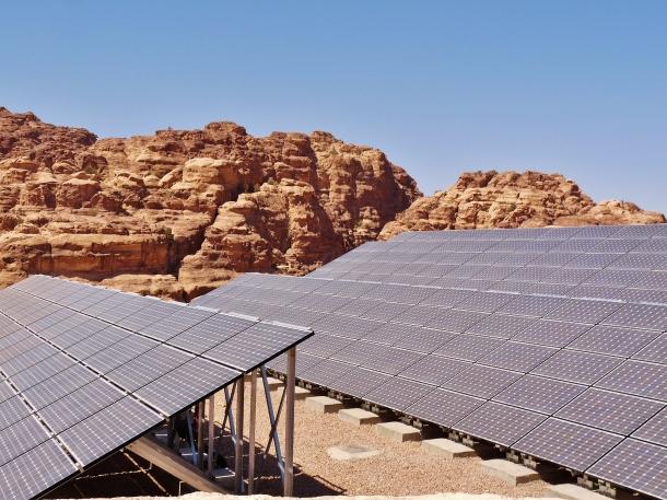 """solar panels"" ""renewable energy"" ""middle east"" ""petra"" ""bedouin"" ""jordan"" ""unesco"" ""world heritage"" ""wonders of the world"""