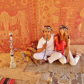 BEDOUIN & I: DESERT DRIVING, VIRTUES OF CAMEL MILK & SHEESHA IN A TENT