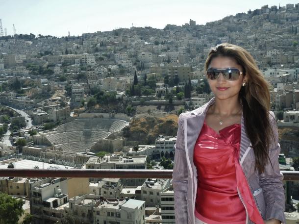 """""""Citadel"""" """"Amman"""" """"Jordan"""" """"Amphitheatre"""" """"Roman ruins"""" """"Middle East"""""""