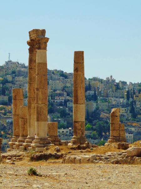 """Amman"" ""Citadel"" ""Amman sights"" ""ruins"" ""heritage"" ""Middle East"" ""legacy"" ""photography"" ""travel"" ""history"" ""roman"" ""ummayad"" ""collonades"" ""viewpoint amman"""