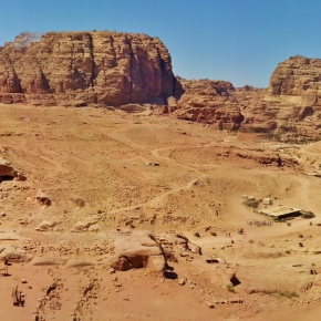 HIKING PETRA; JORDAN'S HERITAGE WONDER OF THE WORLD