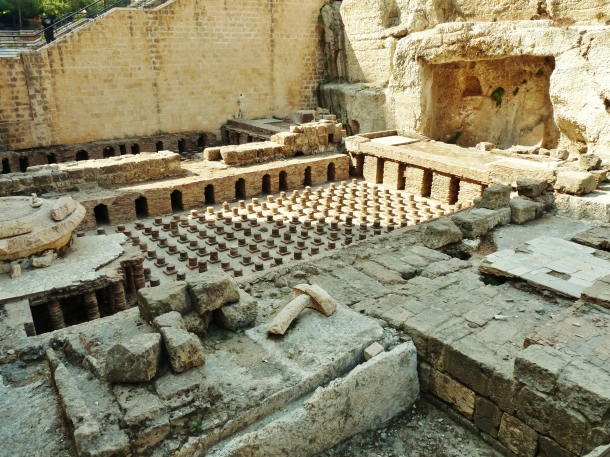"""Roman baths"" ""Downtown"" ""Beirut"" ""Archaeology"" ""Lebanon"" ""Middle East"" ""ottoman"" ""roman"" ""phoenician"" ""crusader"" ""architecture"" ""oldest ruins"" ""ruins"" ""sights"" ""site"" ""dig"" ""regeneration"" ""restoration"""