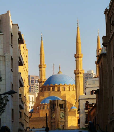 """mohammad al amin"" ""mosque"" ""downtown"" ""beirut"" ""beyrouthe"" ""lebanon"" ""middle east"" ""religious"" ""building"" ""sights"" ""to see"" ""city"" ""must see"" ""striking"" ""hariri"" ""prime minister lebanon"""