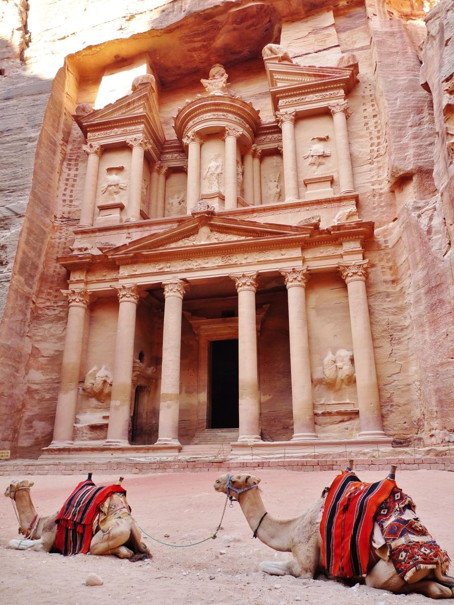 """petra"" ""jordan"" ""siq"" ""treasury"" ""petra"" ""wadi musa"" ""wadi arabia"" ""desert"" ""middle east"" ""UNESCO"" ""world heritage site"" ""wonders of the world"" ""archaeology"" ""excavation"" ""ruins"" ""history"" ""Nabatean"" ""wanderlust"" ""rose red city"" ""sandstone"" ""mountains"" ""travel"" ""world"" ""photography"""