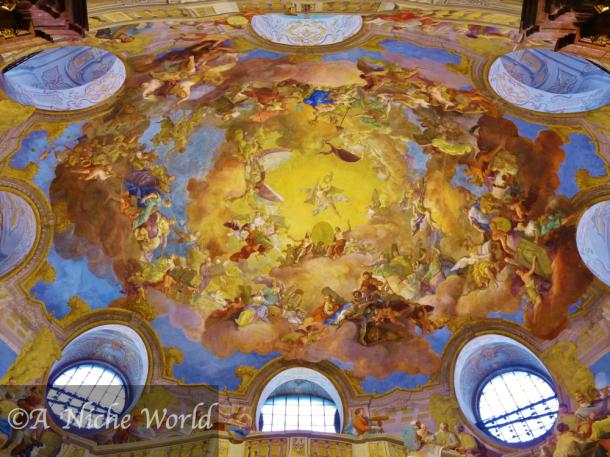 """""""Prunksaal Wien"""" """"Osterreich"""" """"Osterreichisches Prunksaal"""" """"national library austria"""" """"library vienna"""" """"arts Vienna"""" art vienna"""" """"beautiful building vienna"""" """"frescoes Vienna"""" """"ceiling frescoe"""" """"history Vienna"""" """"history Austria"""" """"historical building Vienna"""" """"Hofburg Palace"""" """"Michaelerplatz"""" """"Josefplatz"""" """"solo female travel Vienna"""" """"solo travel city destination"""" """"Europe"""" """"travel Europe"""" """"Austria city"""" """"Austria sights"""" """"Austria capital"""" """"24 hours in Vienna"""" """"main sights in Vienna"""""""