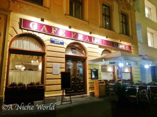 """cafe frauenhuber"" ""viennese coffee house"" ""traditional viennese coffee house"" ""coffee shop vienna"" ""best coffee houses vienna"" ""cafe wien"" ""concert coffee house vienna"" ""melange"" ""coffee"" ""einspanner"" ""espresso"" ""apfel strudel"" ""sights to see vienna"" ""history vienna"" ""historical building vienna"" ""travel"" ""austria sights"" ""austria city"" ""wanderlust"""