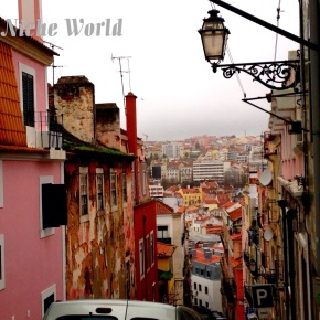 FADED BEAUTY OF LISBON: Where Africa, South America & Europe converge