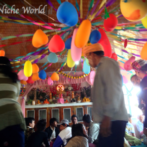 GATECRASHING A MYANMAR VILLAGE WEDDING!