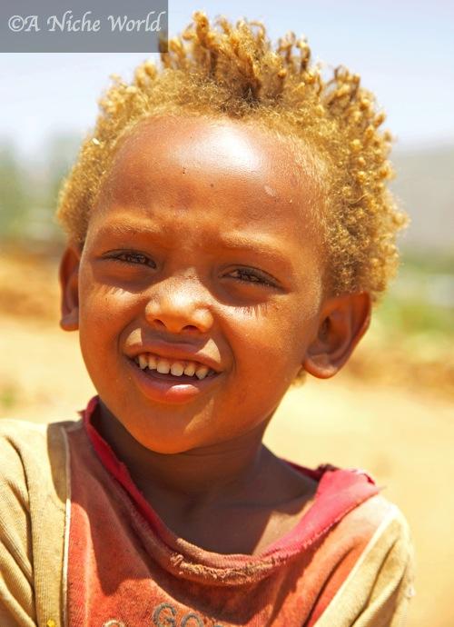 Ethiopian children are all beautiful smiles