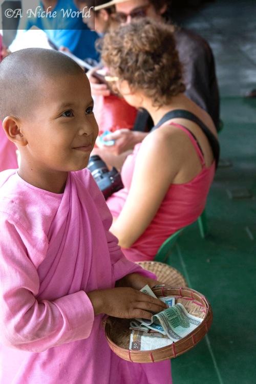 """Myanmar"" ""Burma"" ""Asia"" ""child"" ""smile"" ""beautiful smile"" ""beauty"" ""portrait"" ""travel"" ""travel photography"" ""portrait photography"" ""photography"" ""beauty"" ""nature"" People"" ""culture"" ""Buddhism"" ""Buddhist"" ""Nun"" ""spiritual"" ""spirituality"" ""monastery"" ""asia"""